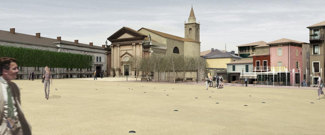 Piazza a Peschiera